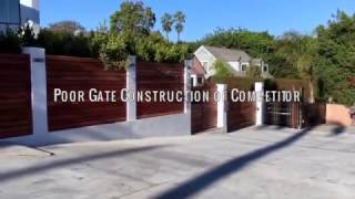 Gate Failure Competitor | Mulholland Security Los Angeles 1.800.562.5770