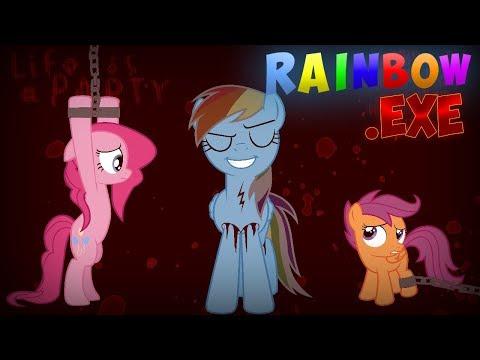 Rainbow.EXE (Full Gameplay)   4th Wall Breaked!