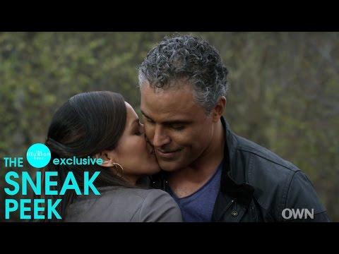 "illusion.buzz | EXCLUSIVE GREENLEAF SNEAK PEEK ""Grace and Darius (Rick Fox) kiss"""