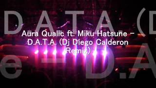 Aura Qualic ft. Miku Hatsune - D.A.T.A. (Dj Diego Calderon Remix).wmv