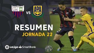 Resumen de Extremadura UD vs AD Alcorcón (0-0)