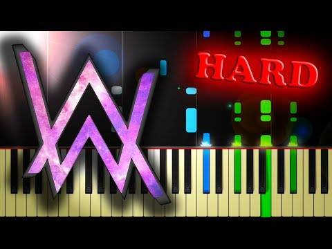 ALAN WALKER - FADED - Piano Tutorial