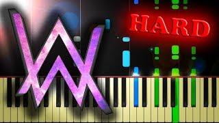 ALAN WALKER - FADED - Piano Tutorial