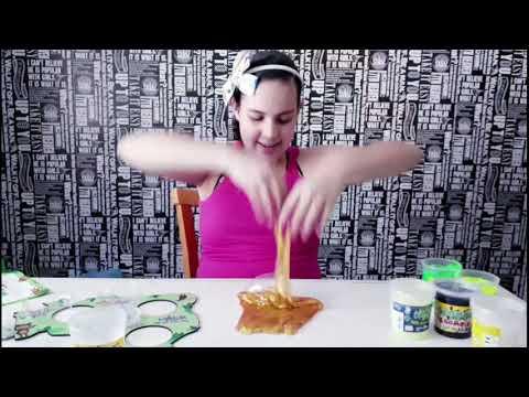 Slime com Zoombie - Kimeleka - Hora da Mari Oliveira