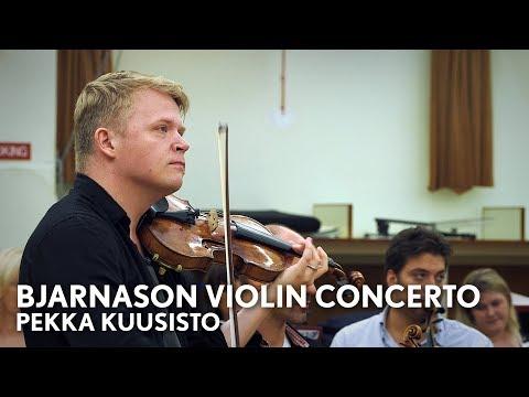 Pekka Kuusisto on Daníel Bjarnason's New Violin Concerto (Philharmonia Orchestra)