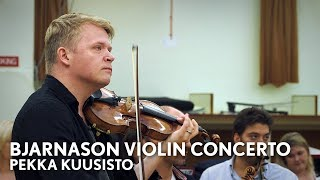 Pekka Kuusisto on Daníel Bjarnason 39 s New