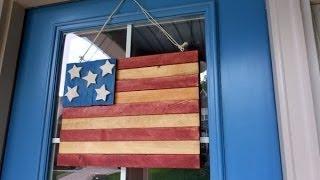 Make A Patriotic Americana Flag