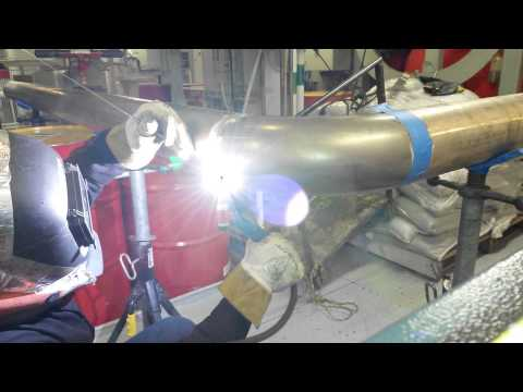 Welding copper nickel with proces T. I .G.