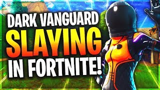 "NEW FORTNITE ""DARK VANGUARD"" SKIN UPDATE! - FORTNITE BATTLE ROYALE ""DARK VANGUARD"" SKIN GAMEPLAY!"