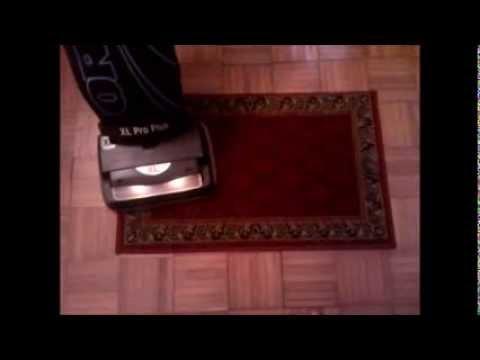 Oreck Xl Pro Plus Vacuum Cleaner Model U4140hhp Youtube