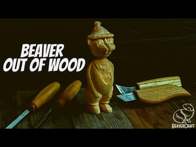 Beginner Whittling Projects - Beaver Out of Wood