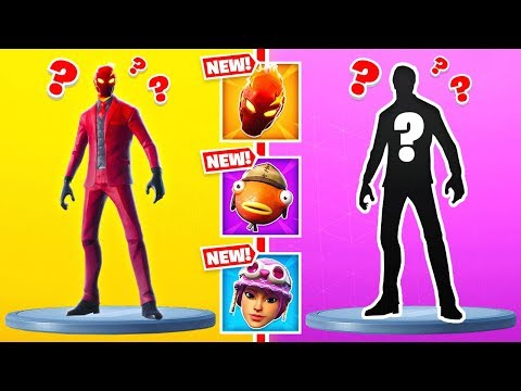 GUESS WHO Random SKINS *NEW* Game Mode in Fortnite Battle Royale