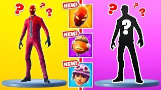GUESS WHO Random SKINS NEW Game Mode in Fortnite Battle Royale