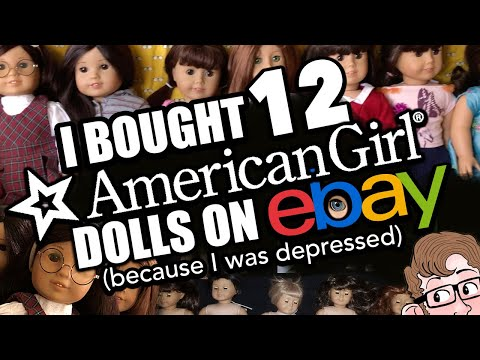 I Bought 12 AMERICAN GIRL Dolls On EBAY