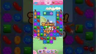 Candy Crush Saga Level 1673 - No Boosters