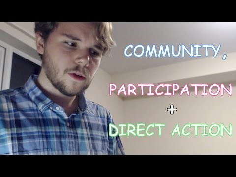 COMMUNITY, PARTICIPATION and DIRECT ACTION