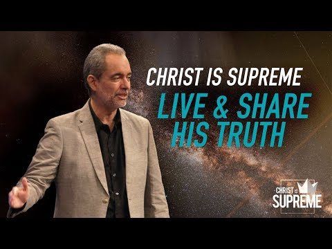 Christ is Supreme - Christ Is Supreme: Live and Share His Truth - Ricky Sarthou