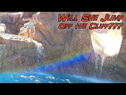 You Won't Do It Challenge!! Cliff Jumping With Trinity!