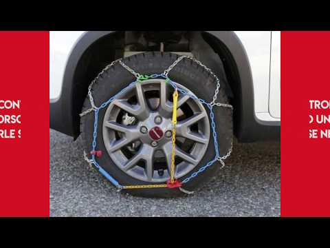 Catene da Neve Power Grip 7mm gr.95 per gomme 205//60r16 VW Touran II