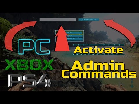 Ark: how to Activate Admin Commands