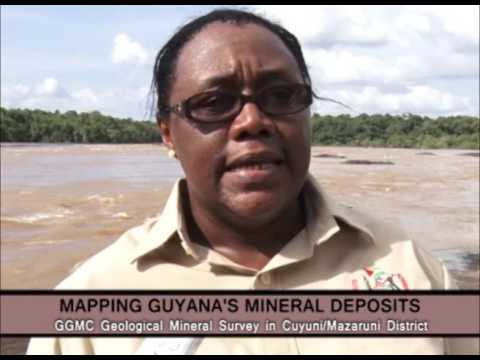 Mapping Guyanas Mineral Deposits