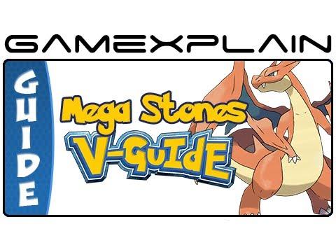 Pokémon X & Y - All Mega Stone Locations & Mega Evolution Stat Guide