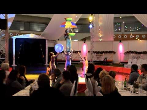 Ghana stars Acrobatics show in swwitzerland, by Circus Starlight