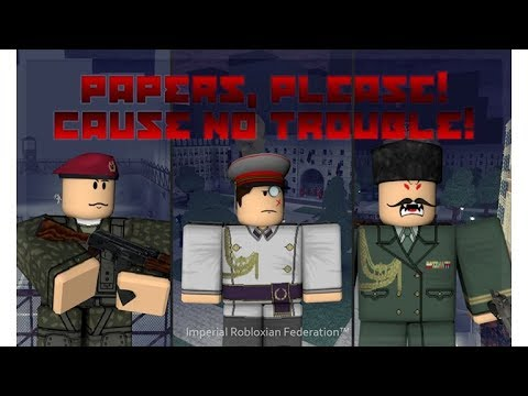 Roblox Papers, Please (Border City) Discord Server! | Official