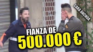 500.000 EUROS DE FIANZA PARA EL CARA ANCHOA