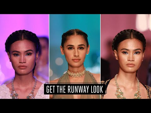 Beauty Tutorial : Manish Malhotra's Runway Eye makeup look from Lakme Fashion Week