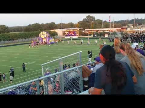 La Grange High School Leopards football entrance
