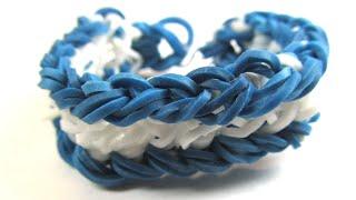 Как сделать браслет из резинок | How to make rubber band bracelet