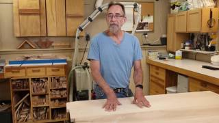 Steve Johnson, The Down to Earth Woodworker, has started a new project building 2 large sets of maple bookcases. In Part 1 of this
