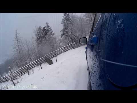 Fiat Sedici Test 4x4 Zima