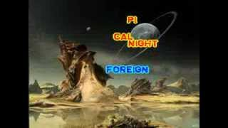 Mike Oldfield - Foreign Affair (karaoke - fair use)