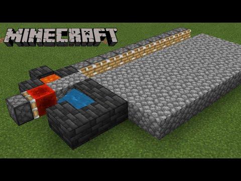 Download Minecraft Auto Cobblestone generator #short