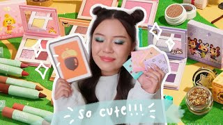 COLOURPOP X ANIMAL CROSSING COLLECTION 🎈 full review + comparisons!