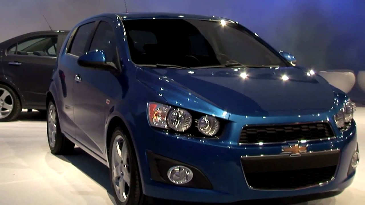 2012 Chevrolet Sonic LTZ (Aveo) - YouTube