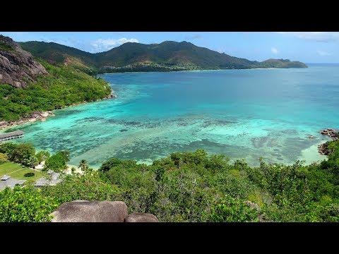 Praslin Seychelles Amazing Overlook Anse Petite Cour Curieuse Le Domaine de la Reserve 2017 4k Hike