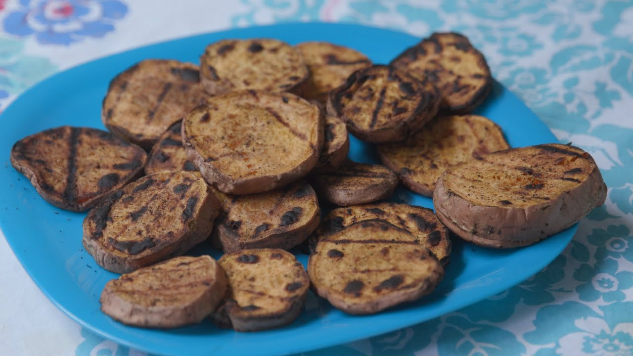 Food Factor: Grilled Sweet Potatoes