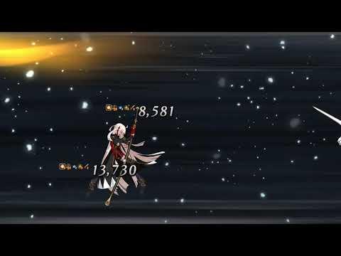 【FGO】Gudaguda Final Honnouji - Vs Okita Alter - Kagetora Solo