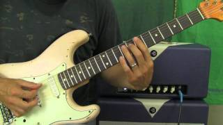 Jimi Hendrix - Bold as Love - Guitar Lesson