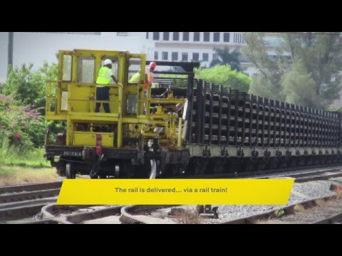Brightline's Railroad Infrastructure Construction Progress