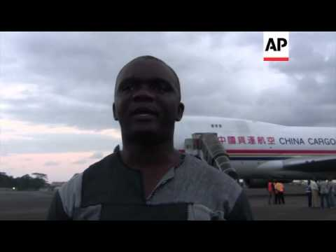 China sends supplies to Liberia to fight Ebola virus
