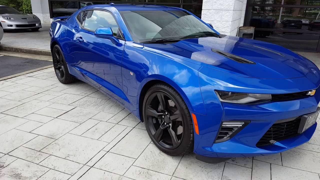 Camaro Ss With Black Rims