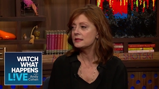 Susan Sarandon Explains The Debra Messing Twitter Feud | WWHL