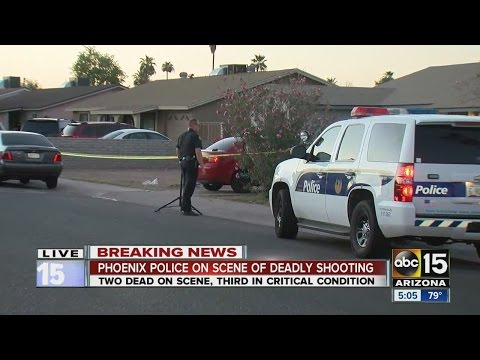 Two killed, one injured in west Phoenix shooting