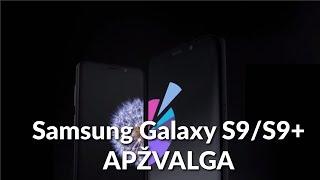 Samsung Galaxy S9/S9+ apžvalga - Varle.lt