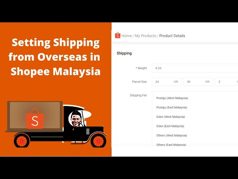 How To Set Shipping From Oversea In Shopee Malaysia