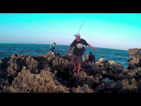 Rock Fishing in Bali